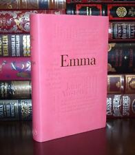 Emma by Jane Austen Unabridged Deluxe Soft Leather Feel Collectible Edition