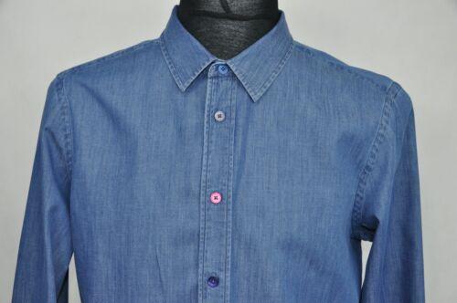 PS Paul Smith Slim Fit Denim Men's Shirt size L