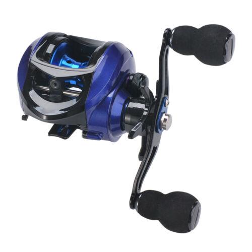 Left//Right Hand Baitcast Fishing Reel 17+1 High Speed Gear Ratio 7.2:1 Reel tt