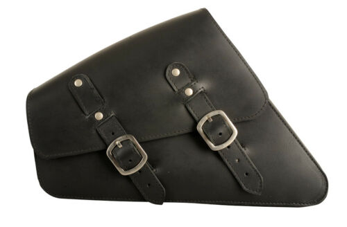 Sacoche de selle gauche HARLEY DAVIDSON HD Sportster 86-03 déballer cendres Sac en cuir