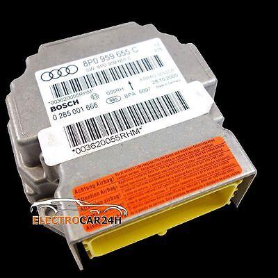 Airbag Steuergerät  Audi A3 8L 1J0909601A 36 Monate Garantie
