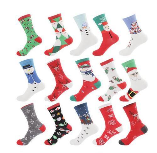 20 Pairs Socks Woman Christmas Socks Novelty Stocking Filler Xmas Gift Sock