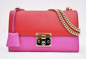 0614e370c44f8 Image is loading Gucci-Linea-C-Leather-Borsa-Padlock-Medium-GG-