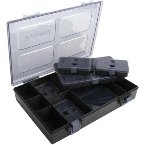 WYCHWOOD complet boîtes à leurres-moyennes et grandes tailles.