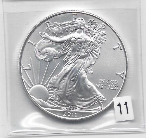 2011-1 oz American Silver Eagle Coin One Troy oz .999 Bullion