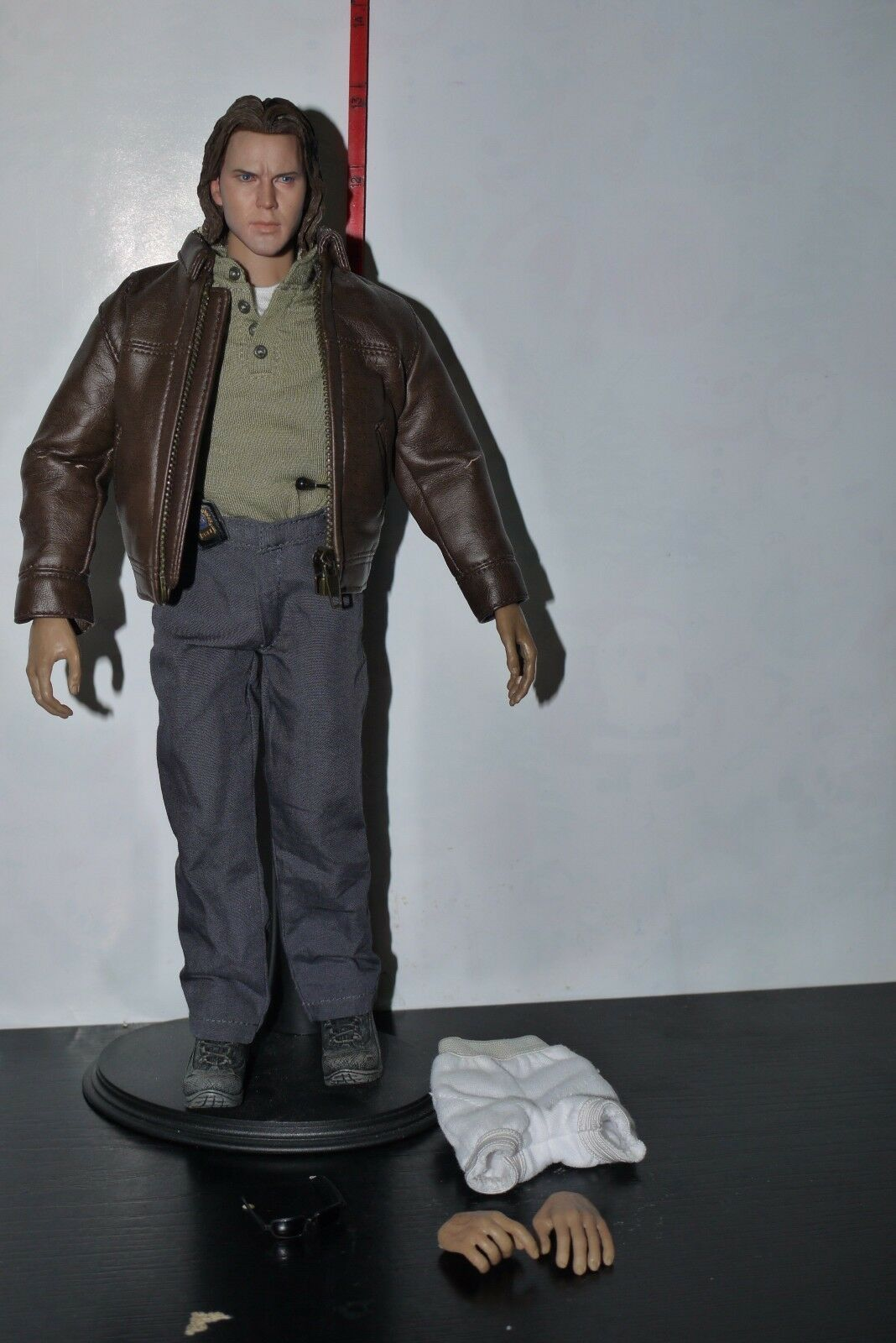 HOT TOYS 1 6 12  FIGURE POLICE DETECTIVE OUTFIT CUSTOM