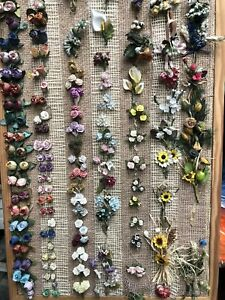 1000-Pieces-of-Job-Lot-Craft-Flowers-Assorted-Desogns