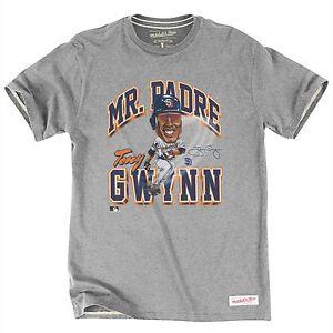 60ea6871e4f Tony Gwynn San Diego Padres Mitchell   Ness Caricature Tee XXL