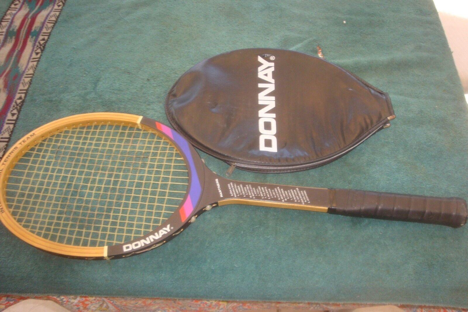 womeny Made in Belgium International Tennis Team  PARTNERS   Racquet  NEAR MINT