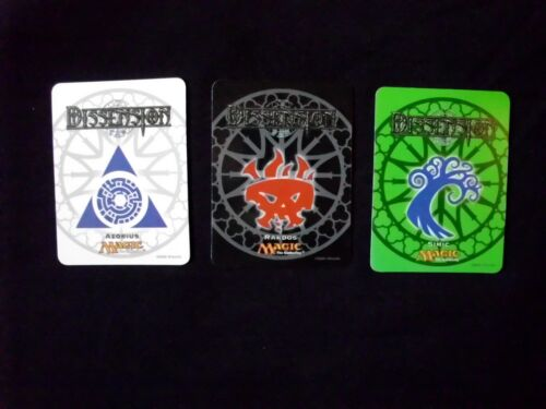 Magic the Gathering Dissension Magnets Set of 3