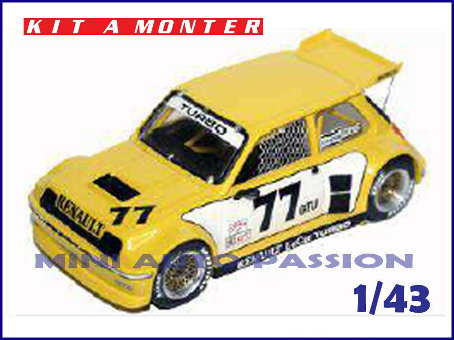 Kit JPS Prépeint - Renault 5 Turbo Imsa - 1982  - ref.  KP381