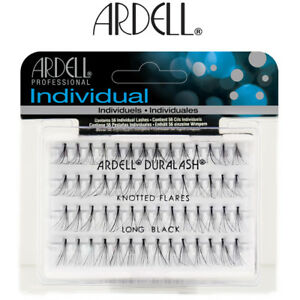 16f23d5a85d Image is loading Ardell-Duralash-Individual-Knotted-Flare-Eyelashes-Long- Black