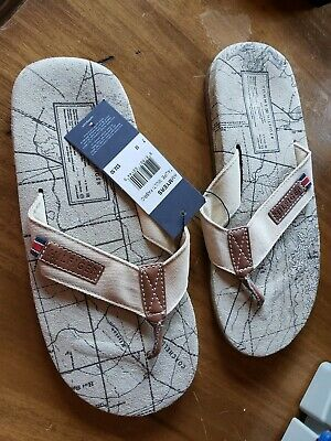 Tommy Hilfiger Men Summer Rubber flip flop size 9 11 new with tags