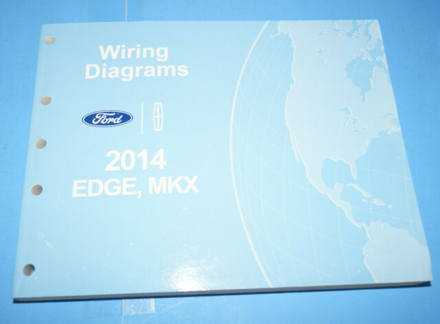 2014 Ford Edge Lincoln Mkx Oem Evtm Factory Wiring