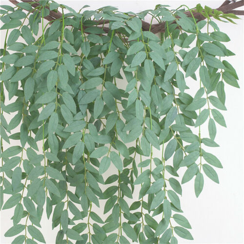 Artificial Fake Hanging Flower Vine Plant Home Wall Indoor Outdoor Decoration CO