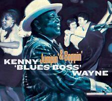 """KENNY """"BLUES BOSS"""" WAYNE - JUMPIN' & BOPPIN'   CD NEU"""