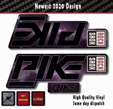 Rockshox BOXXER 2018 Style Fork Sticker Decal Graphics Enduro pink DH