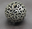 thumbnail 3 - Old Chinese Tibetan silver Dragons and phoenixes Handball Round ball