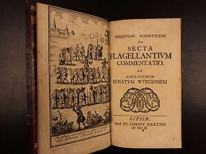 1711-1st-ed-Commentary-on-History-of-Flagellation-Schottgen-Occult-Masochism