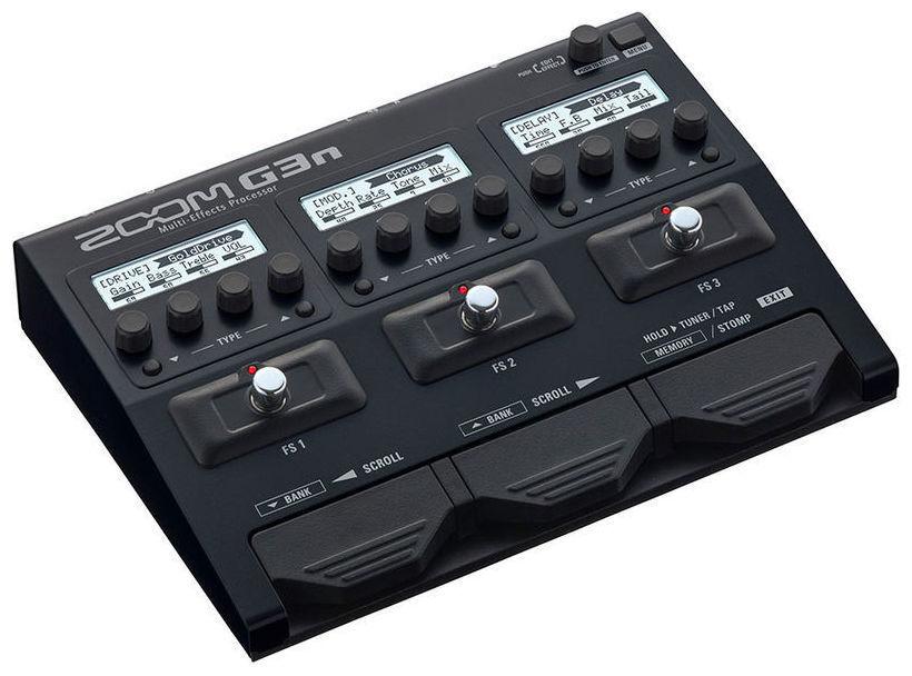 Zoom G3n pedaliera multieffetto, amp-simulator SPEDIZIONE GRATUITA