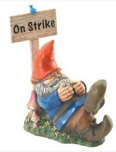 HOME-GARDEN-FANTASY-DECOR-GNOME-ON-STRIKE-STATUE-FIGURINE