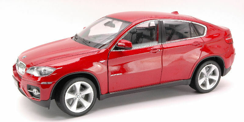 BMW X6 2008 rouge 1 18 Model 2506 WELLY