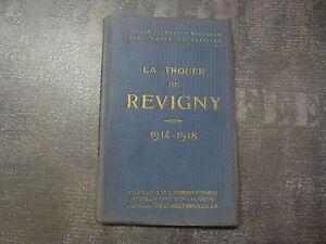 WWI-14-18-1914-1918-Guide-Michelin-La-trouee-de-Revigny-Chalons-Vitry-Bar-le-duc