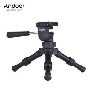 Andoer Portable None-Slip Tabletop Tripod for Canon Nikon Sony SLR Camera N1H1 635946514948