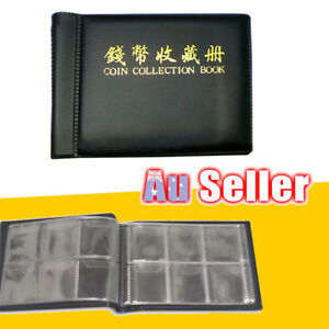 Collecting-Money-Penny-Pockets-60-Holders-Collection-Storage-Coin-Album-Book