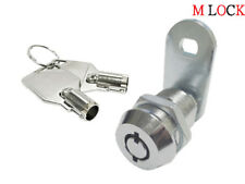 78 Tubular Cam Lock Cabinet Desk 180 Degree Turn 2 Key Pull Keyed Alike 12 6