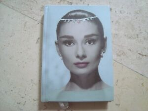 AUDREY HEPBURN classic Star & Movie Icon notebook BLANK BOOK diary