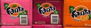 FANTA-SODA-POP-12-CANS-CREAM-SODA-GRAPE-amp-ORANGE-YOU-PICK-355ML-12OZ