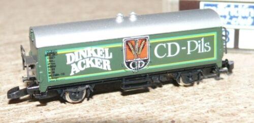 R24  Märklin 8648 Bierwagen Dinkelacker Spur  Z