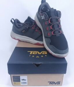 Teva-Arrowood-WP-Black-Olive-Fired-Brick-Waterproof-Hiking-Boots-Shoes-Sz-8-Mens