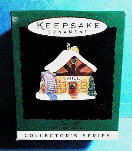"Hallmark /""Village Mill/"" Miniature Ornament 1996"