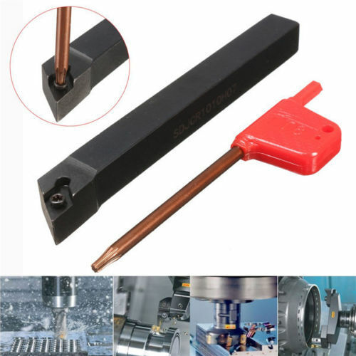 Wrench T8 SDJCR1010H07 Lathe Indexable External Turning Tool Holder