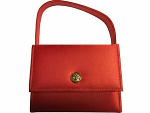 b33a33efbd Image is loading VERSACE-RED-Makeup-Cosmetics-Bag-100-Authentic-Brand-