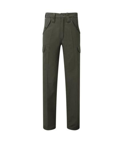 Pantaloni cargo da uomo con stringa di pareggio inferiore forte resistente e 6 tasche