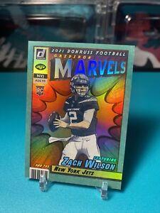Zach Wilson Gridiron Marvels Donruss Football 2021 New York Jets Marvel SSP Rare