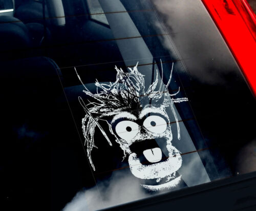 The Muppet Show Peeper The King Prawn Muppets Gift Pepe Car Window Sticker