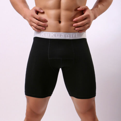 Men Breathable Boxer Shorts Sport Running Active Gym Underpants Pants Oversize