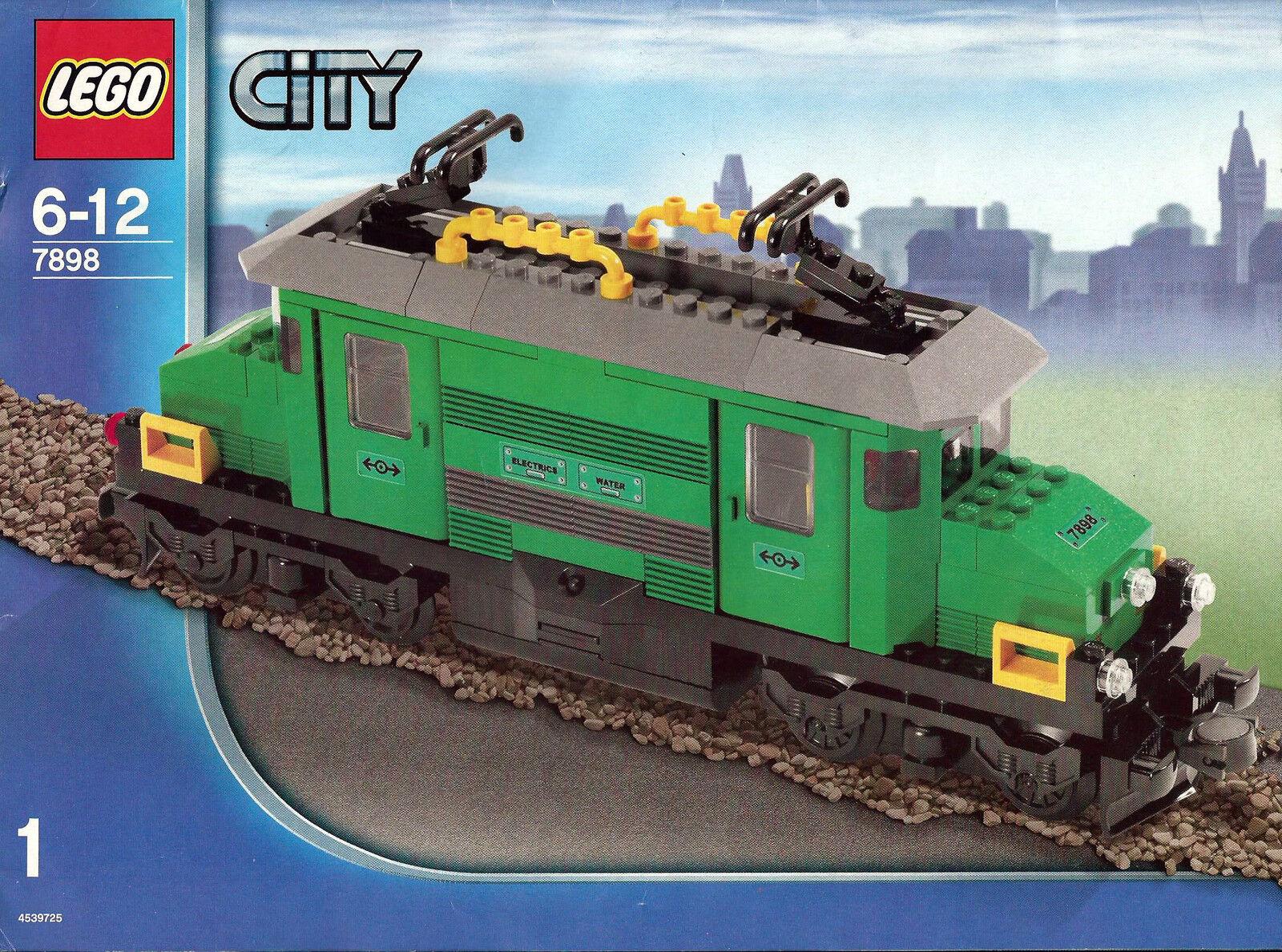 Lego ® Railway RC locomotive from 7898 Grün Rail Crocodile Motor  TESTED