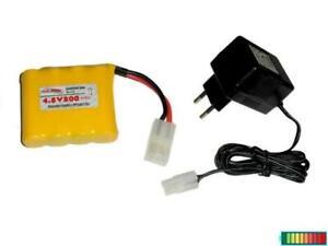 RC Akkupack 4.8V800 mAh mit Ladegerät, mehrere Optionen...