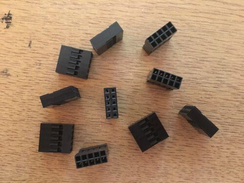 Harwin M20-1070500 2.54mm Alloggiamento crimpati Donna 10 VIE 10 PEZZI Z2943