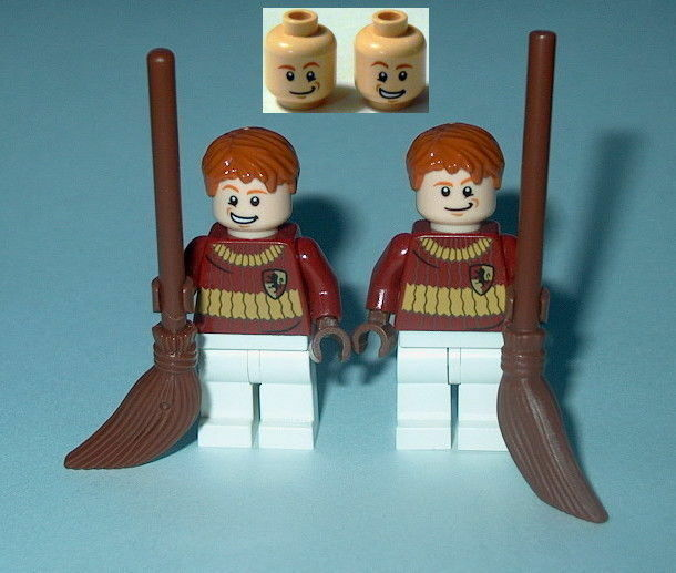 Harry Potter LEGO Fred George Quidditch Custom 66 B For