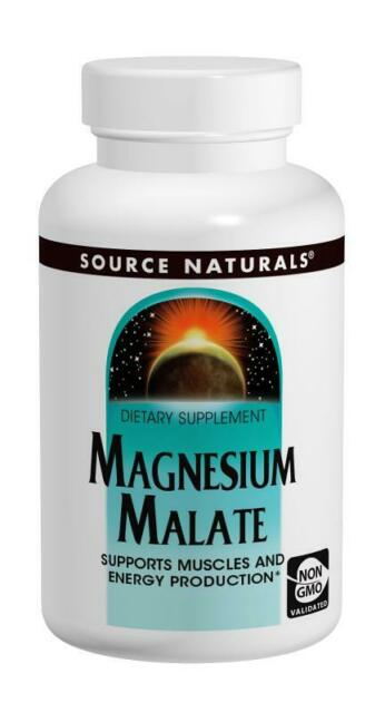 Source Naturals Magnesium Malate, 1250mg x 360 Compresse