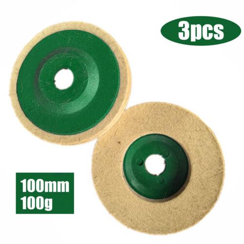 Heiß Polieren Polierscheibe Filz Pad Winkelschleifer Buffer Beste Disc Grün
