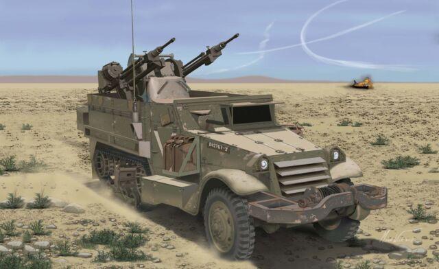 Dragon 3586  IDF M3 Halftrack w/TCM-20 Anti-AirG  1:35  NEU