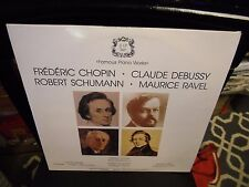 Famous Piano Works Walter Gieseking [Chopin Debussy Ravel] 3x LP EX