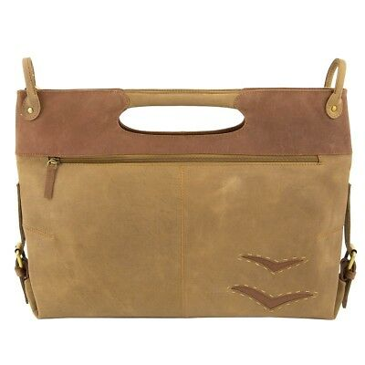 GREENLAND NATURE BIRD Büffelleder Shopper Handtasche Schultertasche 2100-25